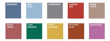 colores de otoño ropa