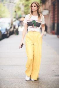 look amarillo colores pastel