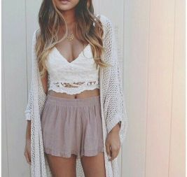 crochet como ir a la playa con estilo