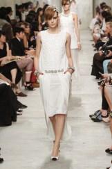 CHANEL resort 2014 Singapore - White dress Ii