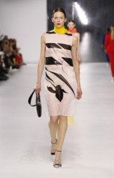 Dior Cruise 2014 - Beige and brown dress