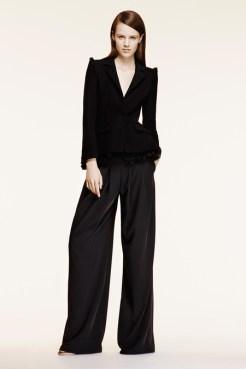Altuzarra Resort 2014 - Black jacket and black pants