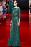 Elie Saab Fall 2013 Couture - Green dress I