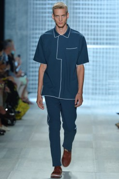 Lacoste Spring 2014 - Men navy blue shirt and pants