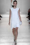 Victoria Beckham Spring 2014- White dress