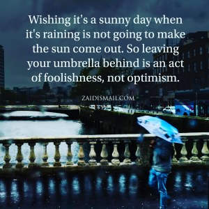 Read more about the article Optimism versus Reality