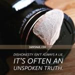 Read more about the article The silent lie