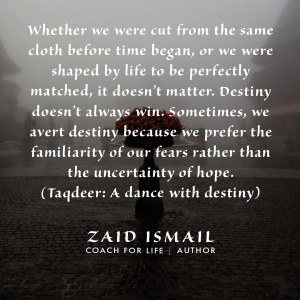 Read more about the article Dancing with destiny