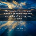 Read more about the article Peace is not the absence of battles