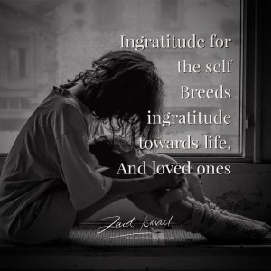 Read more about the article Ingratitude breeds ingratitude