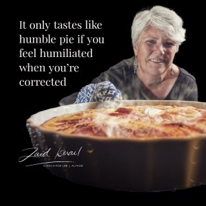 Read more about the article Eat more humble pie