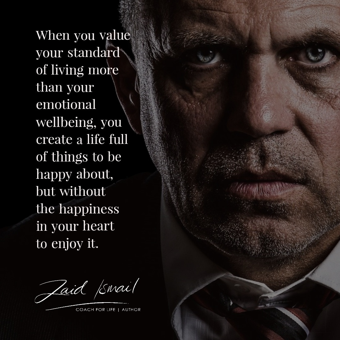 You are currently viewing A life full of things…except happiness