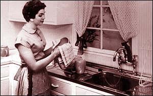 Mitos sobre a dona-de-casa