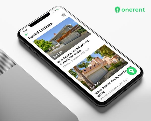 proptech startup OneRent