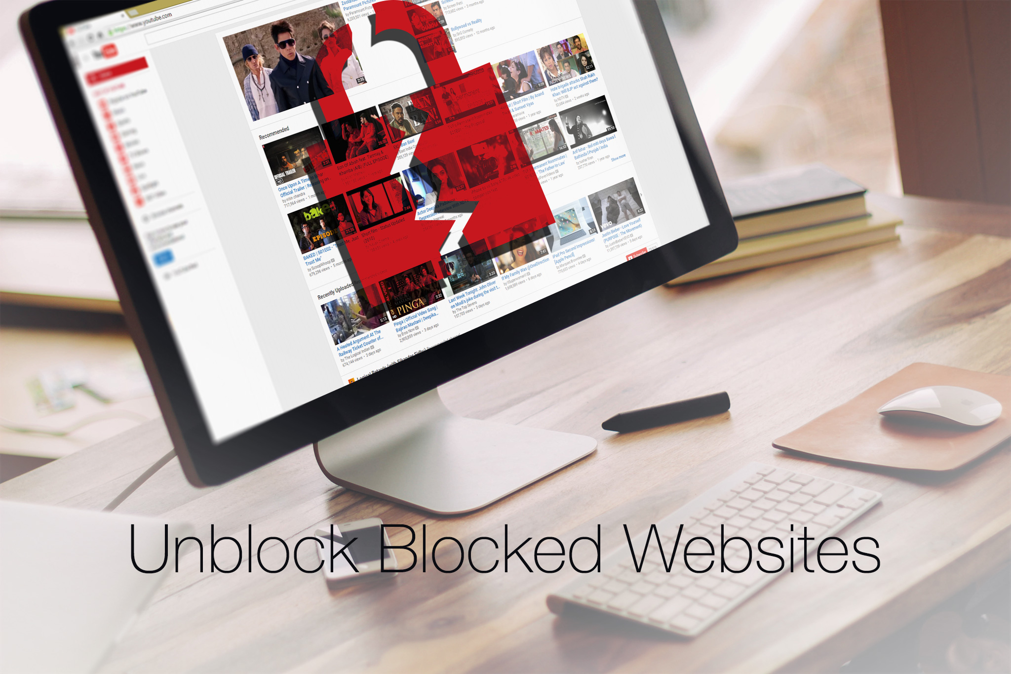 How to unblock Youtube or any blocked website by using Tor