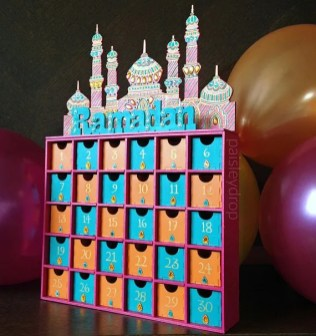 Ramadan Advent Calendar Toddler