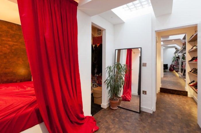 спалня в червено