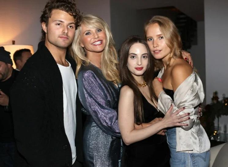 Кристи Бринкли с децата си