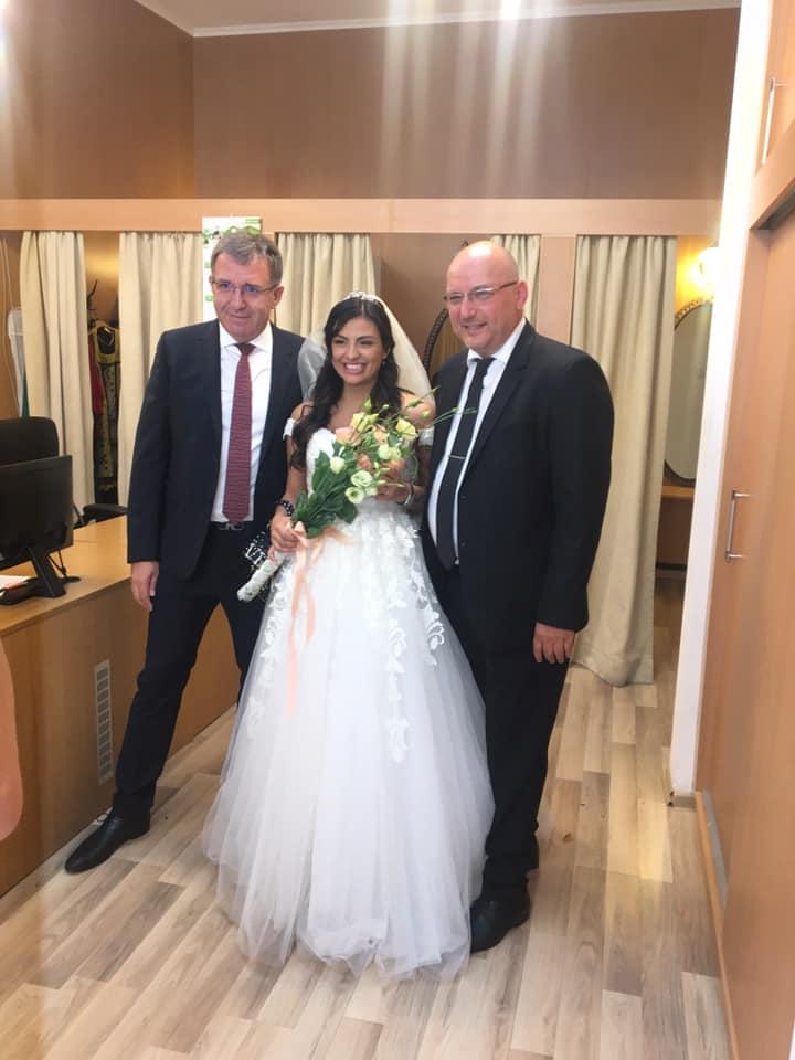 Деси Цонева сватба