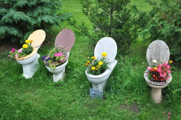 леха от старата тоалетна