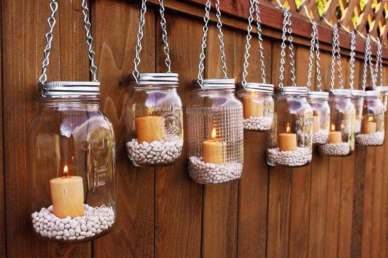 свещи от камъчета