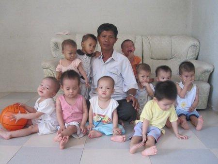 многодетен баща