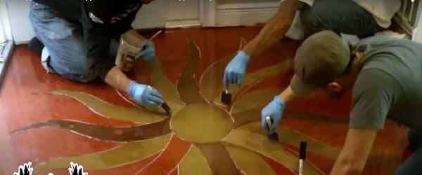 Украса на пода