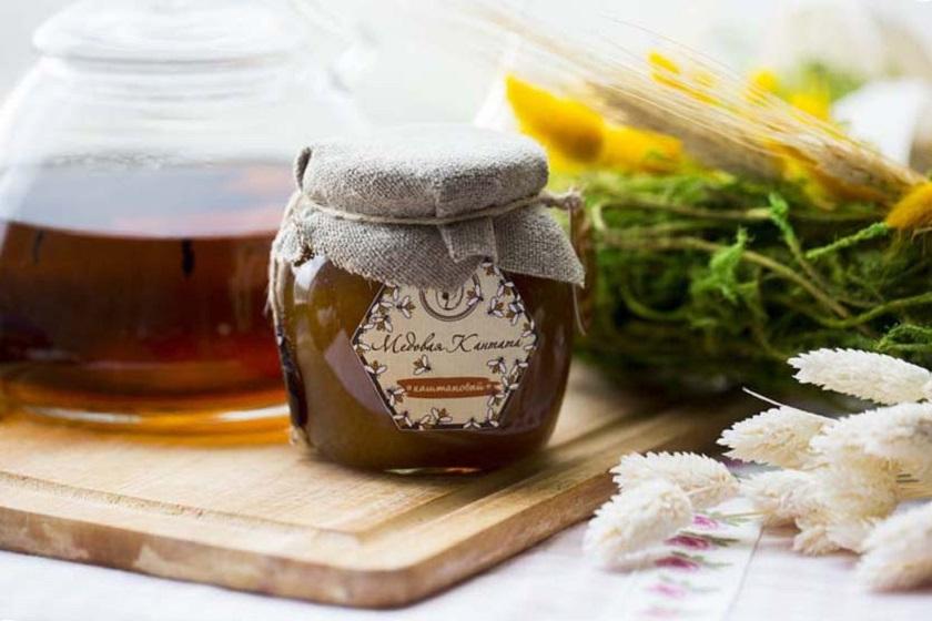 мед от кестен