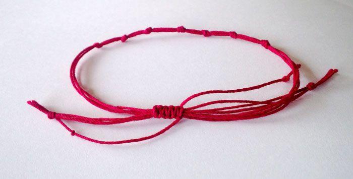 червен конец