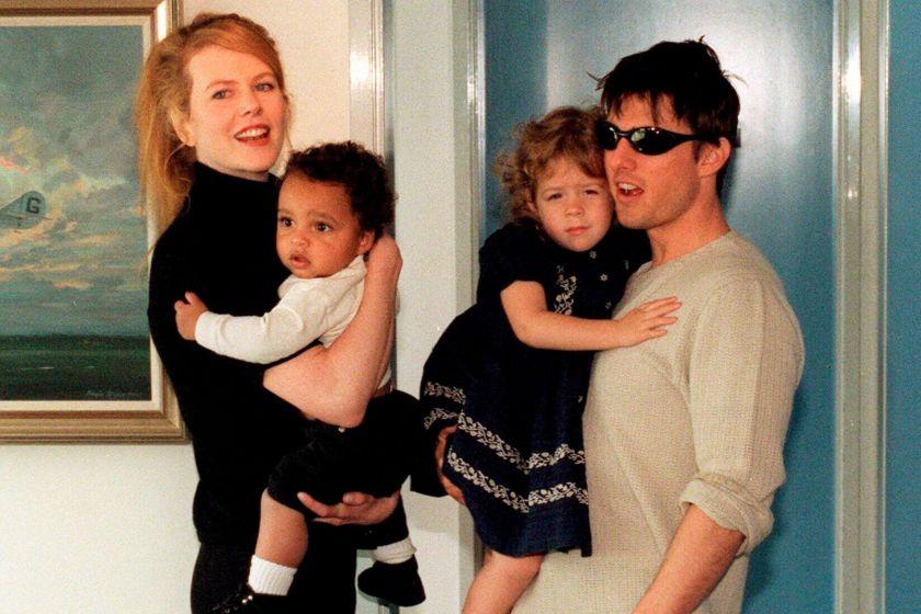 Кидман и Круз деца
