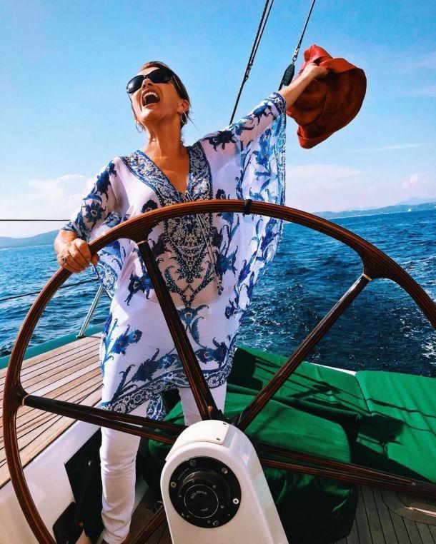 Джейн Сиймур на кораб