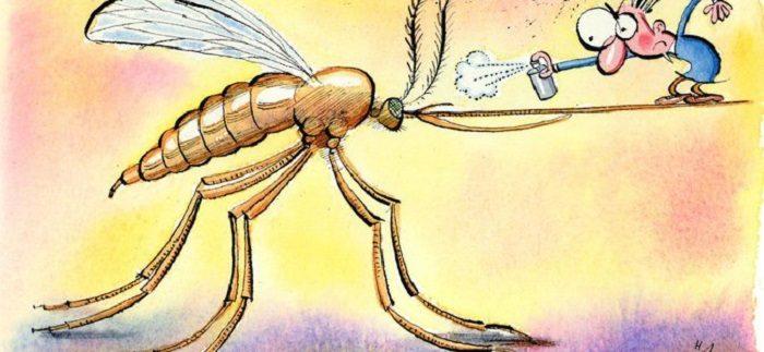 ухапване комар