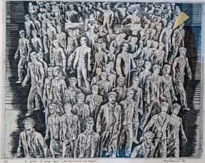 Мартинець О. 'В дорозі', 1986, офорт