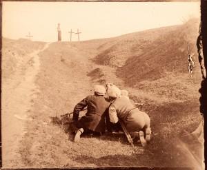 Косарєв Б. На зйомках фільму 'Земля', 1929, фото