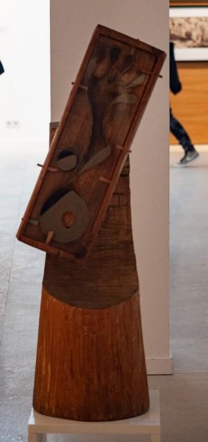 Іванова А. 'Пісочний годинник 01 множина', 2012, дерево, скло, пісок
