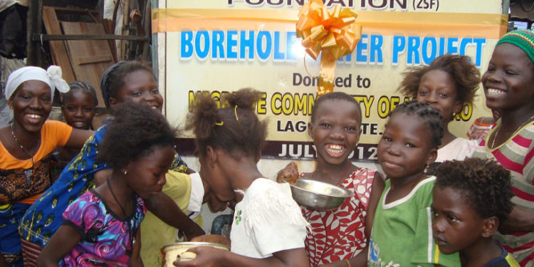 Support Borehole Water Project