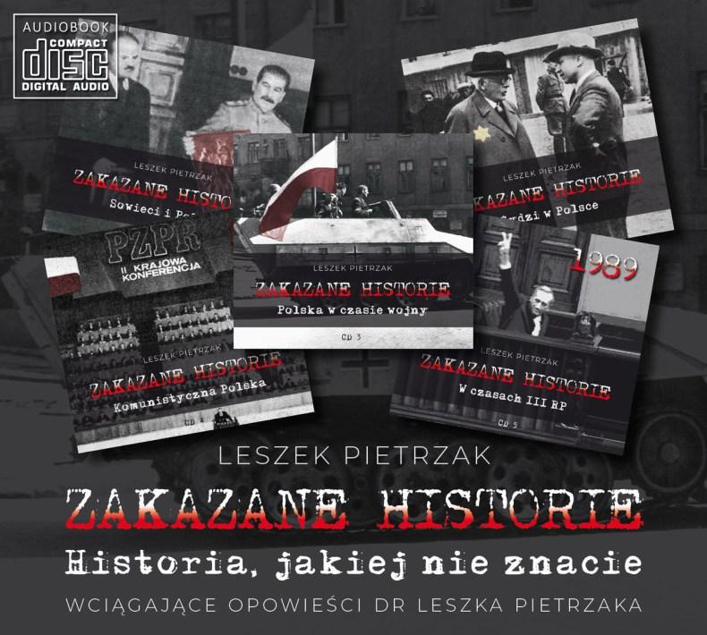 ZAKAZANE HISTORIE - pakiet 5 płyt CD