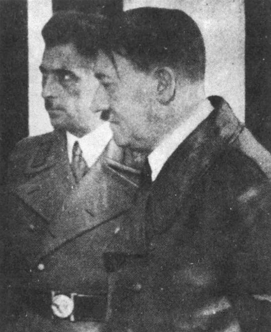 Franz Kutschera i Adolf Hitler