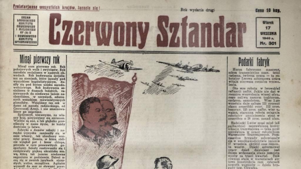 Jak Sowieci demontowali polski Lwów