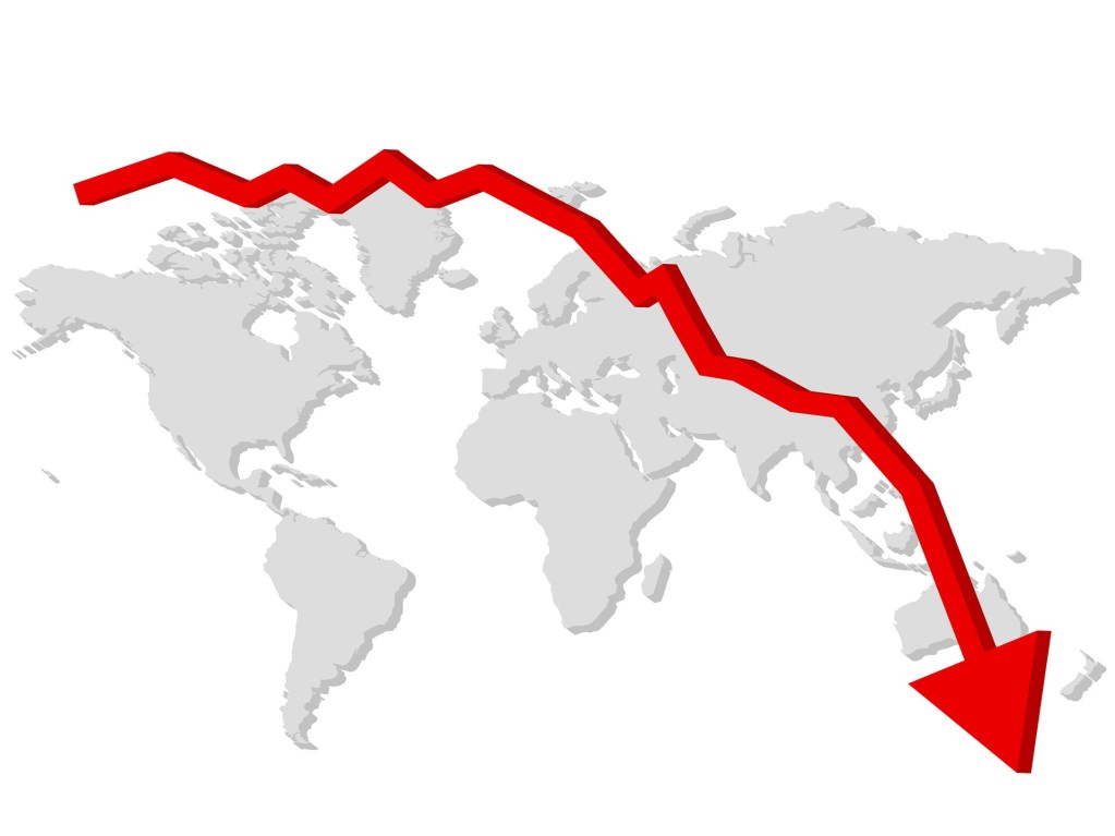 Britse economie krimp