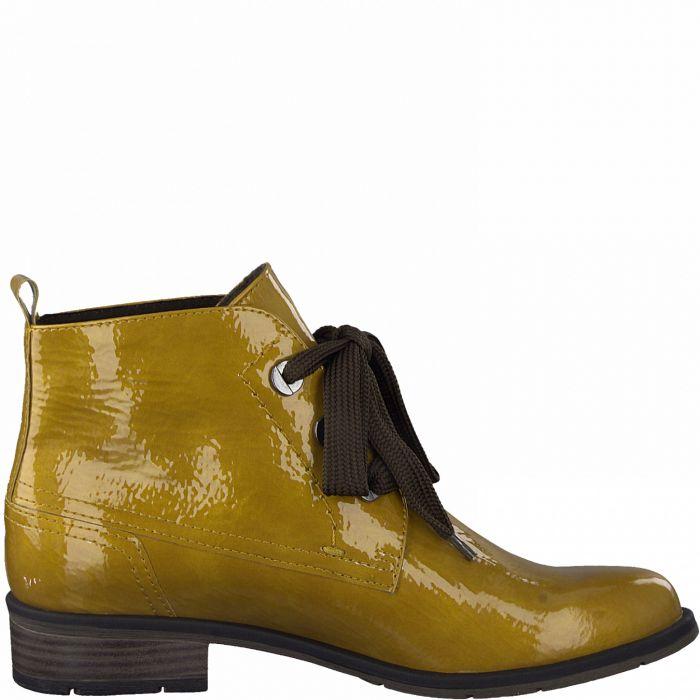 marco tozzi okrové boty 2