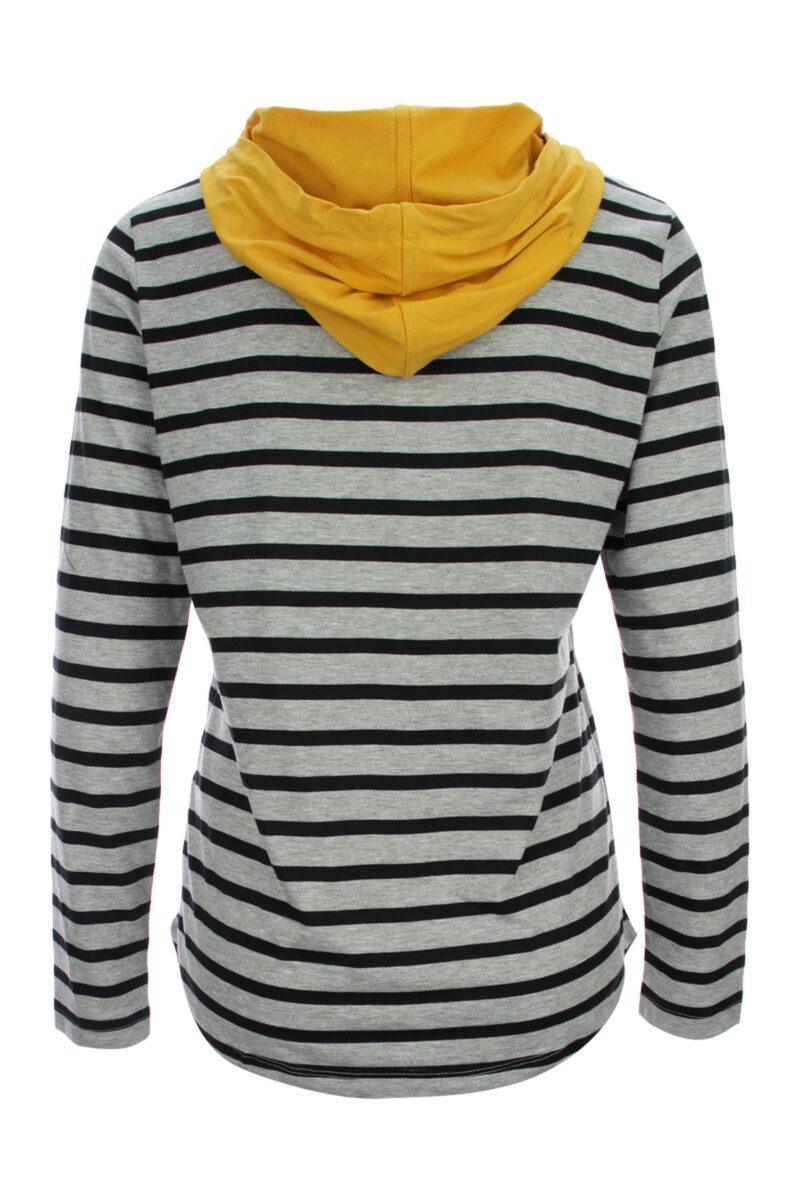 Pruhované tričko s kapucí a dlouhým rukávem Kenny S 2