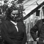 El aduanero Miguel-Giner y su esposa Dolores Llopis