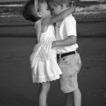 baiser de plage