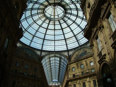 Milan, galerie