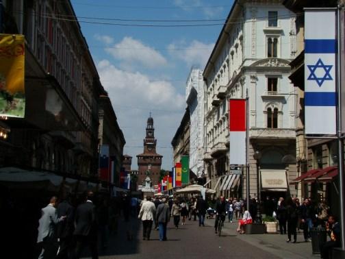 Milan, palais des ducs de Sforza