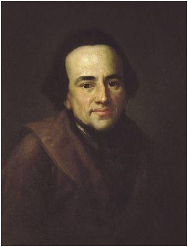Portrait de Mendelssohn par Anton Graff