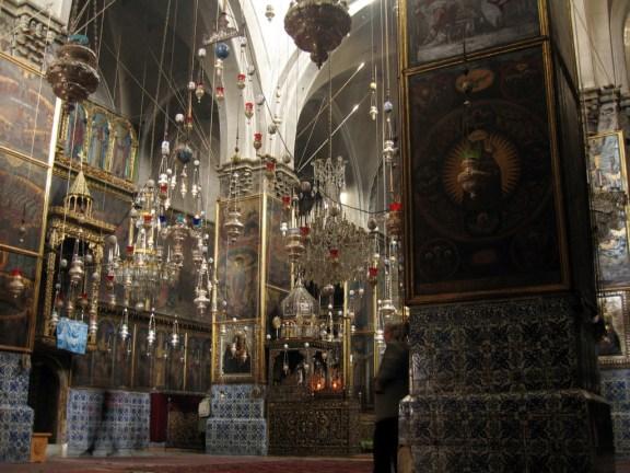 Saint James Cathedral in the Armenian Quarter of Jerusalem
