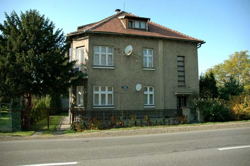 Maison de Rudolf Höss et sa famille à Auschwitz