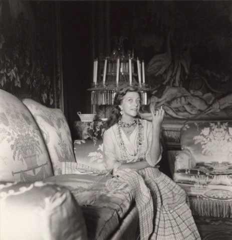 NPG x40391; Louise LÈvÍque de Vilmorin by Cecil Beaton
